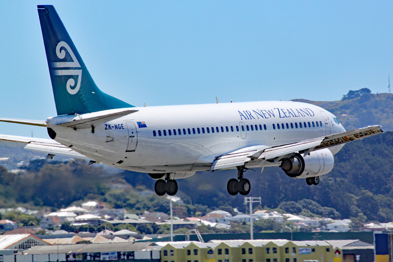 WLG Airport is a hub for Air New Zealand carrier and its subsidiaries.